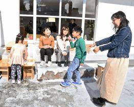 子どもたちが楽しめる企画を設けている紅翔祭