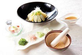 宿泊者限定プランとして川島町の郷土料理「すったて」などが楽しめる(写真はイメージ)
