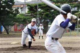 紅白戦で好投した吉田投手