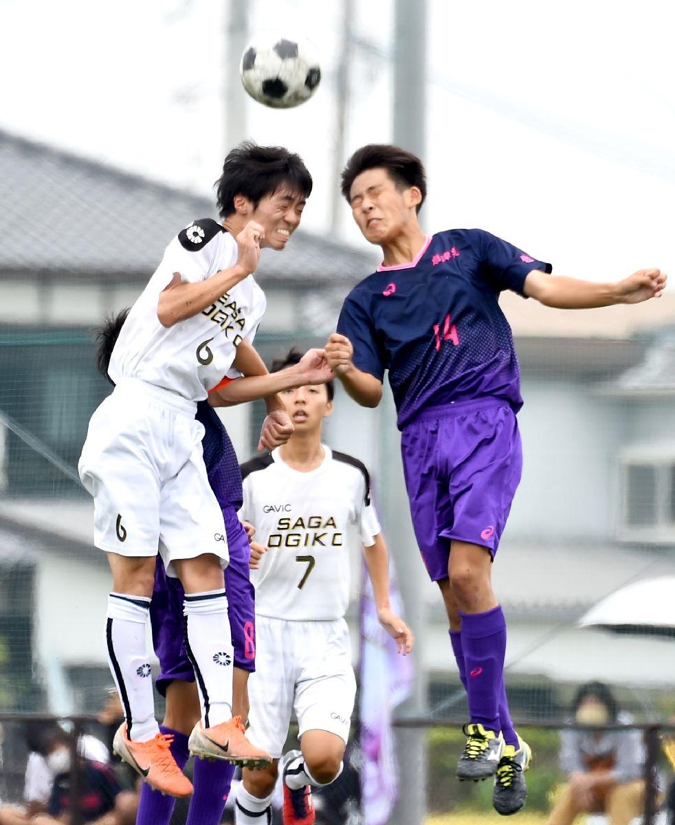 唐津東など3回戦進出 全国高校サッカー選手権佐賀大会