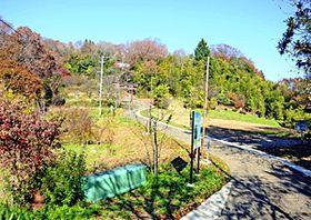 御神坂広場が整備される信夫山の中腹