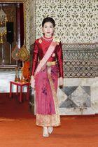 「配偶者」の称号を剥奪されたシニーナトさん(タイ王室提供、AP=共同)
