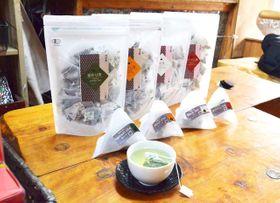 釜炒り茶の香りや味わいを手軽に楽しめる「一心園」のティーバッグ