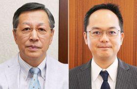 阿部康二教授(左)と山下徹講師
