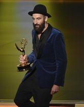 作品賞などを受賞したドラマ「チェルノブイリ」のヨハン・レンク監督=22日、米ロサンゼルス(AP=共同)