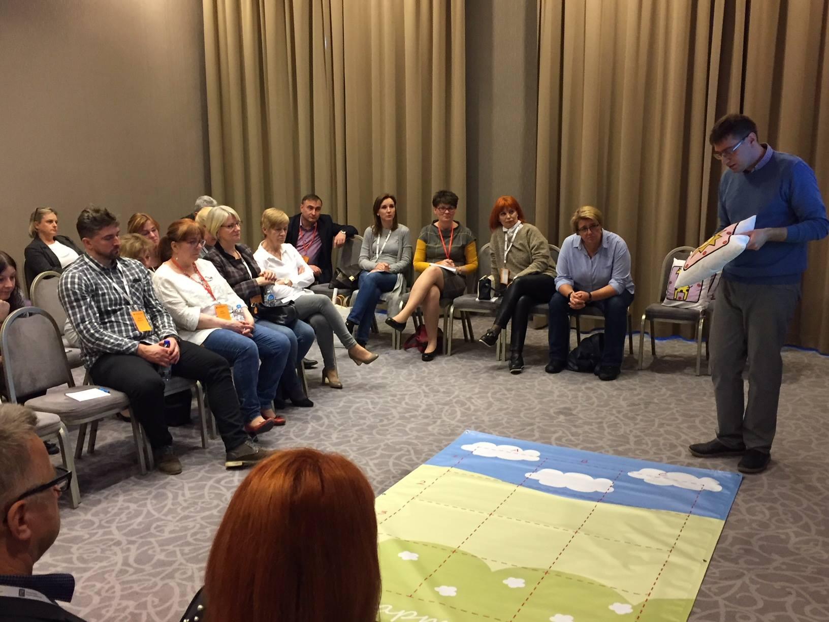 ポーランドの教師学会で「どうぶつしょうぎ」が発表される
