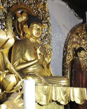 仏師宗印の阿弥陀像を発見