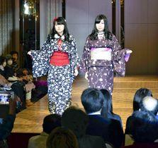 来場者を魅了した卒業ファッションショー