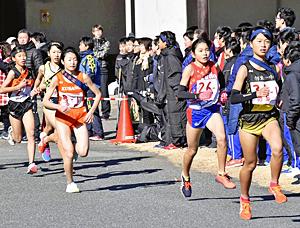男子・中央台南、女子・勿来一制す いわき市中学新人駅伝大会