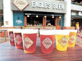 東北6県の地ビールが楽しめるイーグルスビール