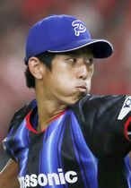 パナソニックの吉川峻平投手