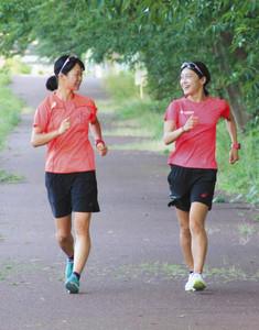 陸上 岡田久美子、アジア大会へ発進 輪島で合宿 女子20キロ競歩代表