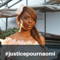 ナオミ・ムセンガさん。事件後に立ちあがったフェイスブックのページ「ナオミに正義を」から