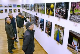 高知市高須の県立美術館・県民ギャラリーで始まった巡回写真展「光展(こうてん)」