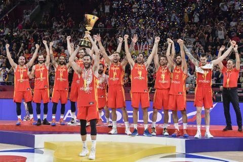バスケ、スペインが2度目の優勝