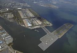 救急体制の不安が明らかになった羽田空港(18年4月)