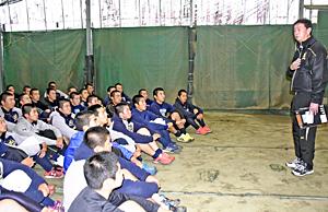 学法石川野球部『佐々木体制』始動 監督着任、勝てるチームへ