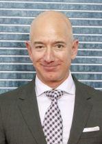 米アマゾン・コムのジェフ・ベゾス最高経営責任者(CEO)(ゲッティ=共同)