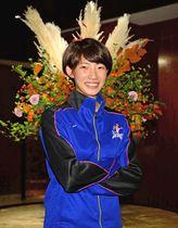 今季から主将として久光製薬を引っ張る女子日本代表のエース石井優希。「スマイルアタッカー」としてファンの人気も高い(撮影・冨永豊)