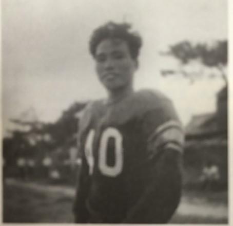 大学時代の丹生恭治さん