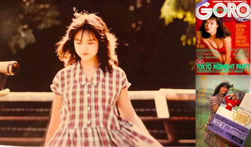 「激写」阿蘇ロケでの1枚。長友啓典さんのアートディレクションは秀逸だった
