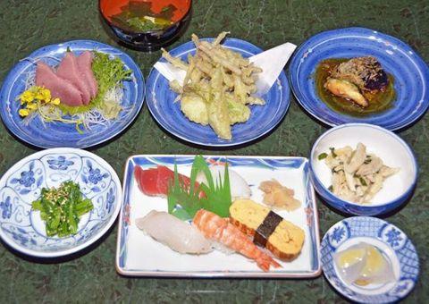 「春つげ御膳」ハマアザミ、マンボウなど旬の味覚 室戸市内5店で