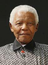 南アフリカの故マンデラ元大統領(UPI=共同)