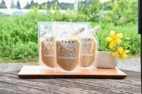 完全無農薬で栽培した玄米で造られた早川農苑の「玄米甘酒」