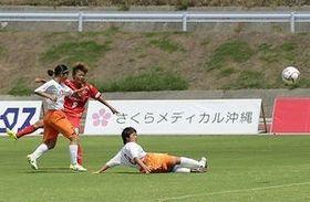 琉球デイゴスが6勝目 女子サッカー九州1部リーグ