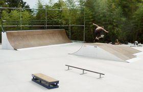 2016年、奈良県御所市にオープンした「御所スケートボードパーク」