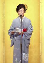 第66回菊池寛賞の贈呈式でスピーチする松任谷由実さん=7日午後、東京都内のホテル
