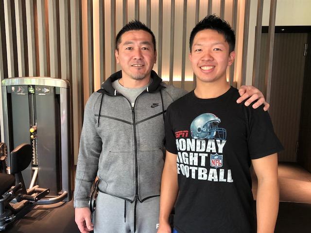 JPECの河口正史代表(左)と竹田淳さん