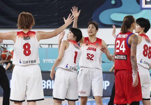 バスケ日本、8強懸け中国と対戦