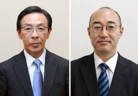 西脇隆俊氏(左)、福山和人氏