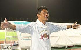 2018シーズンをもって、FC琉球の監督を退任する金鍾成監督