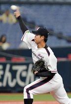 投手陣の柱となる日本製鉄広畑のエース尾嶋=京セラドーム大阪