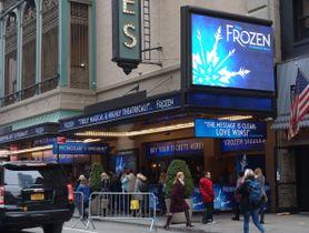 『FROZEN』を上演しているセント・ジェームス劇場