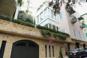 カルロス・ゴーン容疑者が使用していたレバノン・ベイルートの邸宅=21日(共同)