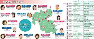 2020東京 聖火リレー 大分県 日本泳法「臼杵山内流」で泳ぐ区間も