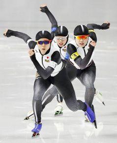 平昌五輪 スケート女子団体追い抜き 準々決勝、日本は2位通過