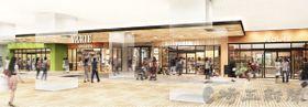 26日にリニューアルする東武スカイツリーライン草加駅直結の商業施設、草加ヴァリエの「VARIE2」のイメージ(東武鉄道提供)