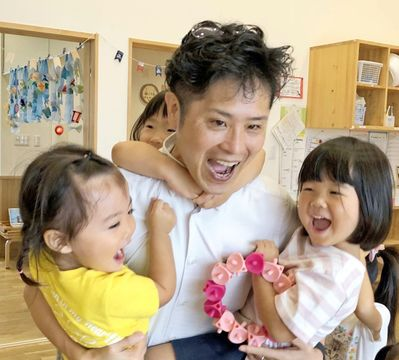 〈この人キラリ〉竹内陽慶さん(小城市) 保育園運営の夢を実現