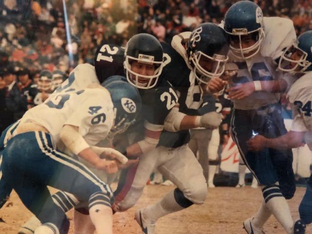 レナウン「ローバーズ」が関学大を破って初めて日本一になった1986年の「ライスボウル」