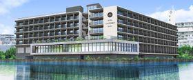 沖縄UDSとASAKAが那覇市に共同開発する新ホテル「ホテルアンテルーム那覇」の完成予定図(沖縄UDS提供)