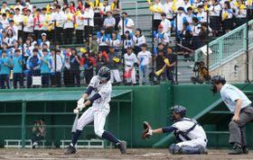 札真栄高―札南陵高戦で始まった札幌支部予選