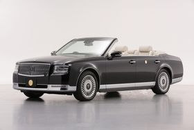天皇、皇后両陛下の「祝賀御列の儀」で使用するオープンカー