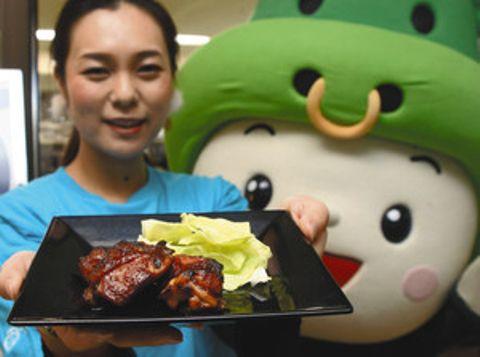 三重県庁食堂に「松阪鶏焼き肉」