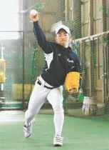 冬の間、制球力向上に取り組んできた佐藤亜
