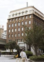 野村ホールディングス本店の入るビル=東京都中央区日本橋