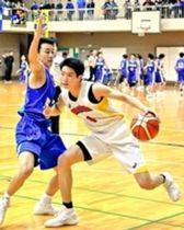 バスケ 福井大会 北陸が優勝 藤島を圧倒